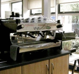 The Espresso Machine - a thing of great beauty