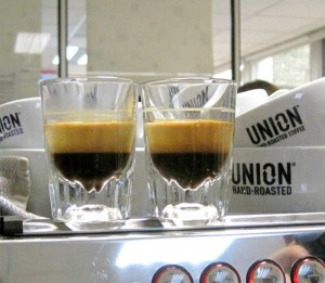 espresso as it should be..look at that crema
